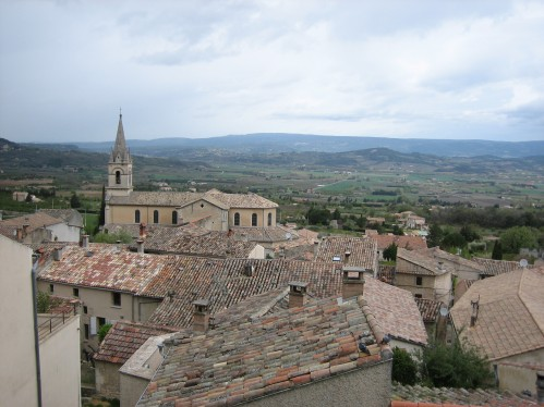 Overlooking The Village of Bonnieux