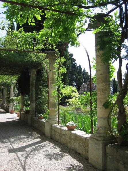 Abbaye St.-Andre Gardens, Near Avignon