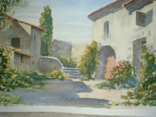 Provence in Watercolor by James Clay