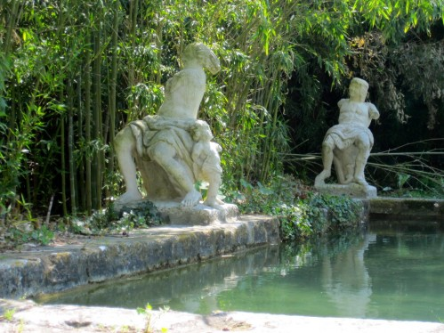 Enchanting Pool at Chateau de Roussan