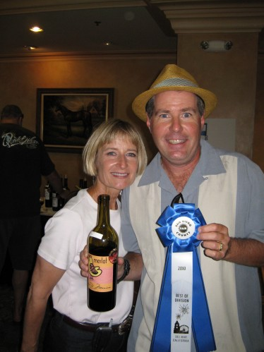 Wine Competition Awards, San Diego County Fair 2010