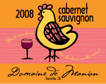 Domaine de Manion Wine Label