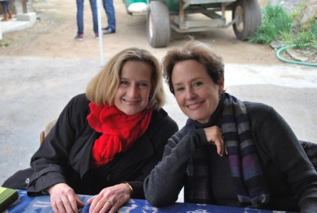 With Alice Waters