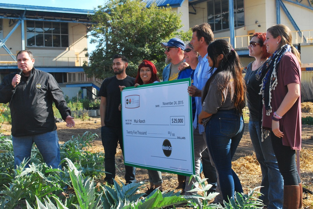 Second Year Miracle-Gro Has Sponsored JM High School Garden