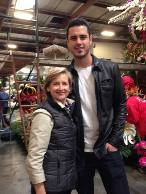 "A Quick Photo With ""Ben"" of the Bachelor"