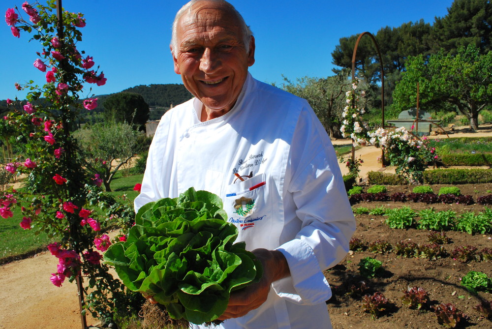 Chef Rene Berard--near Bandol, Provence, France