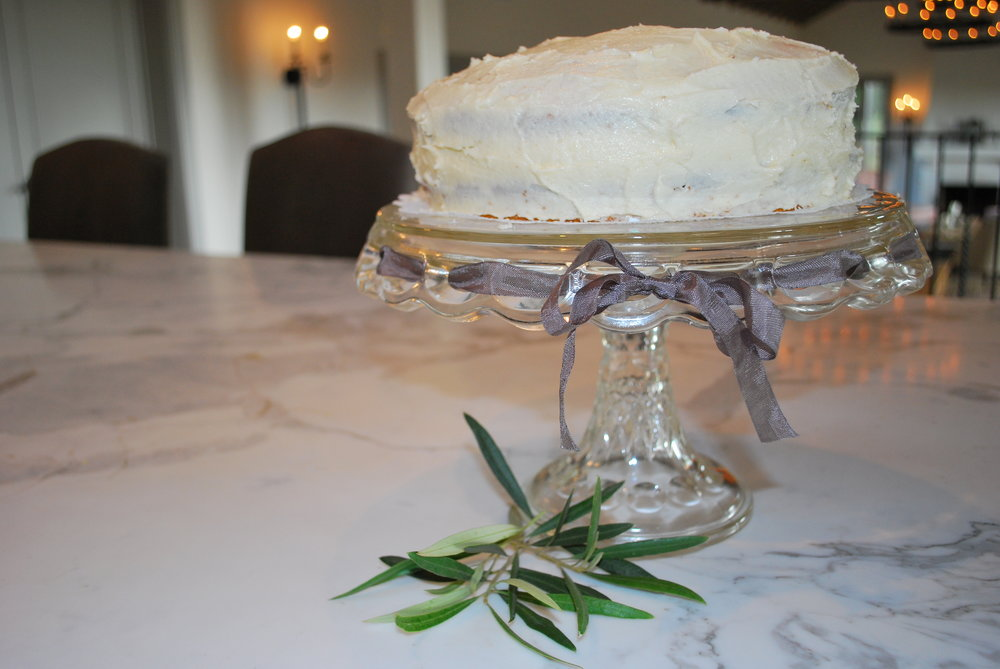 Zucchini-Olive Oil Cake