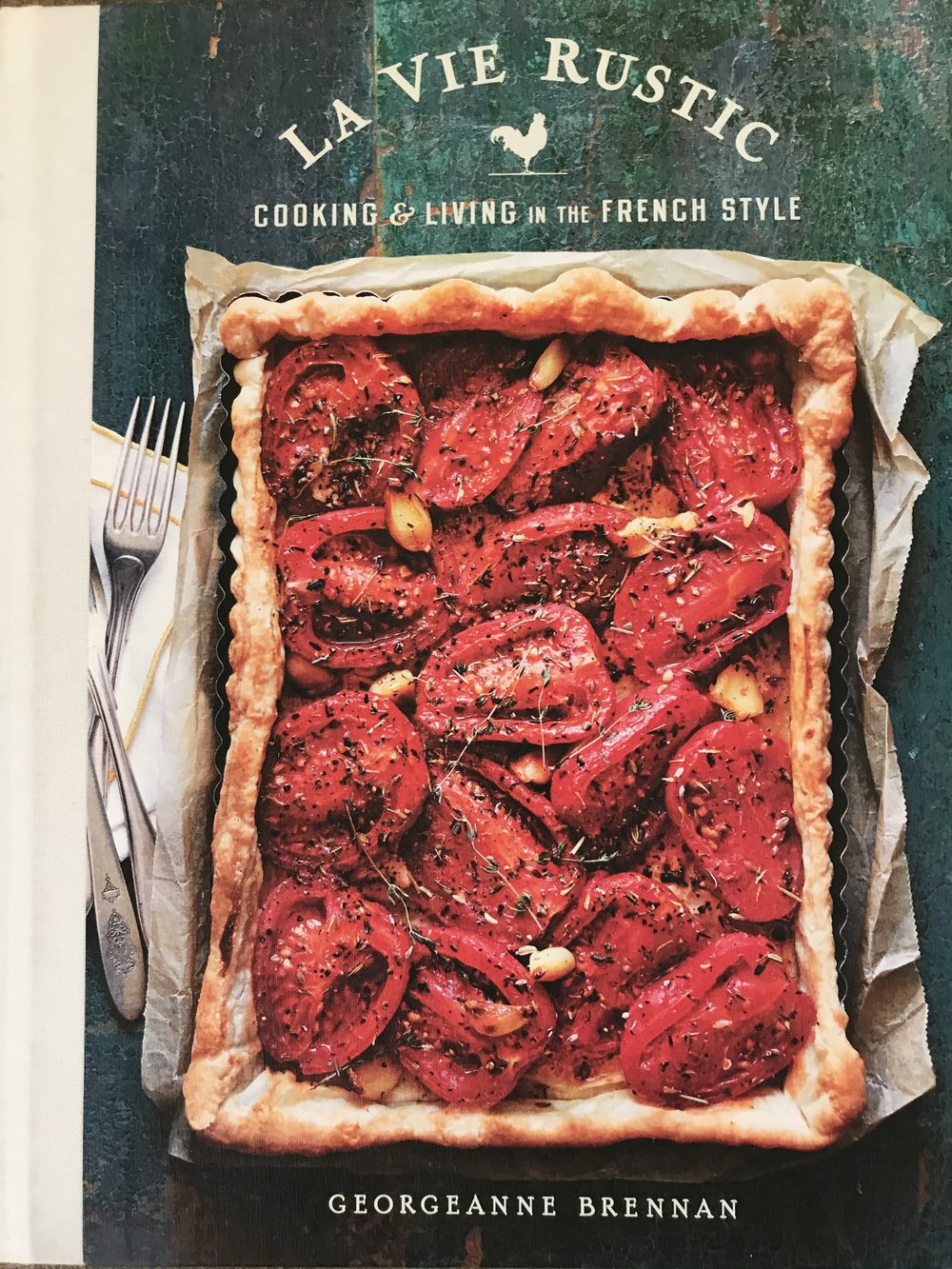 The Latest Cookbook from Georgeanne Brennan