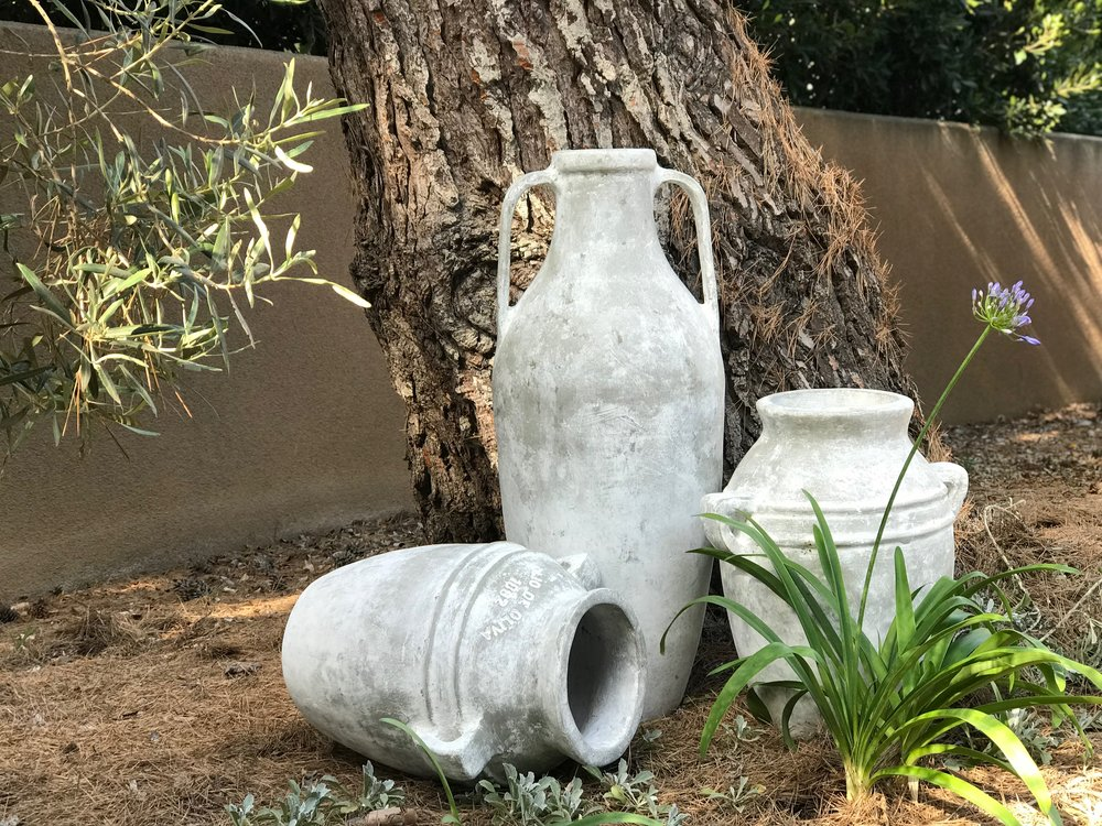 Urns in My Olive Grove