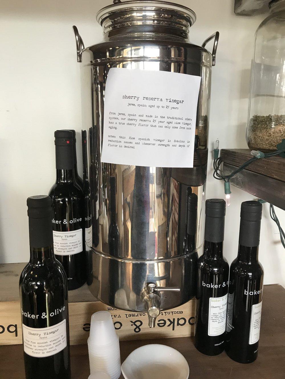 Baker & Olive Sherry Reserva Vinegar