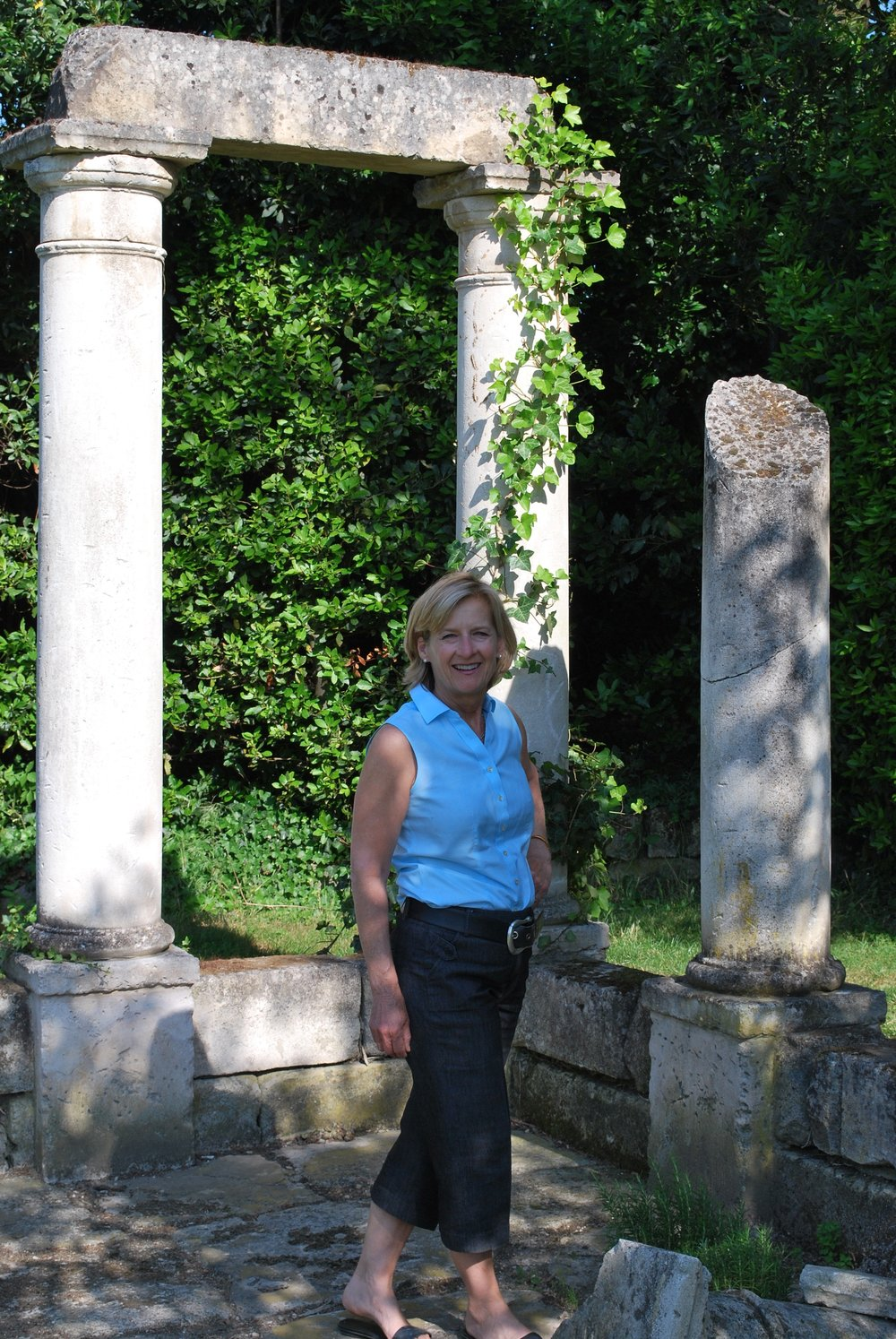 In James Clay's Garden, St. Remy Provence