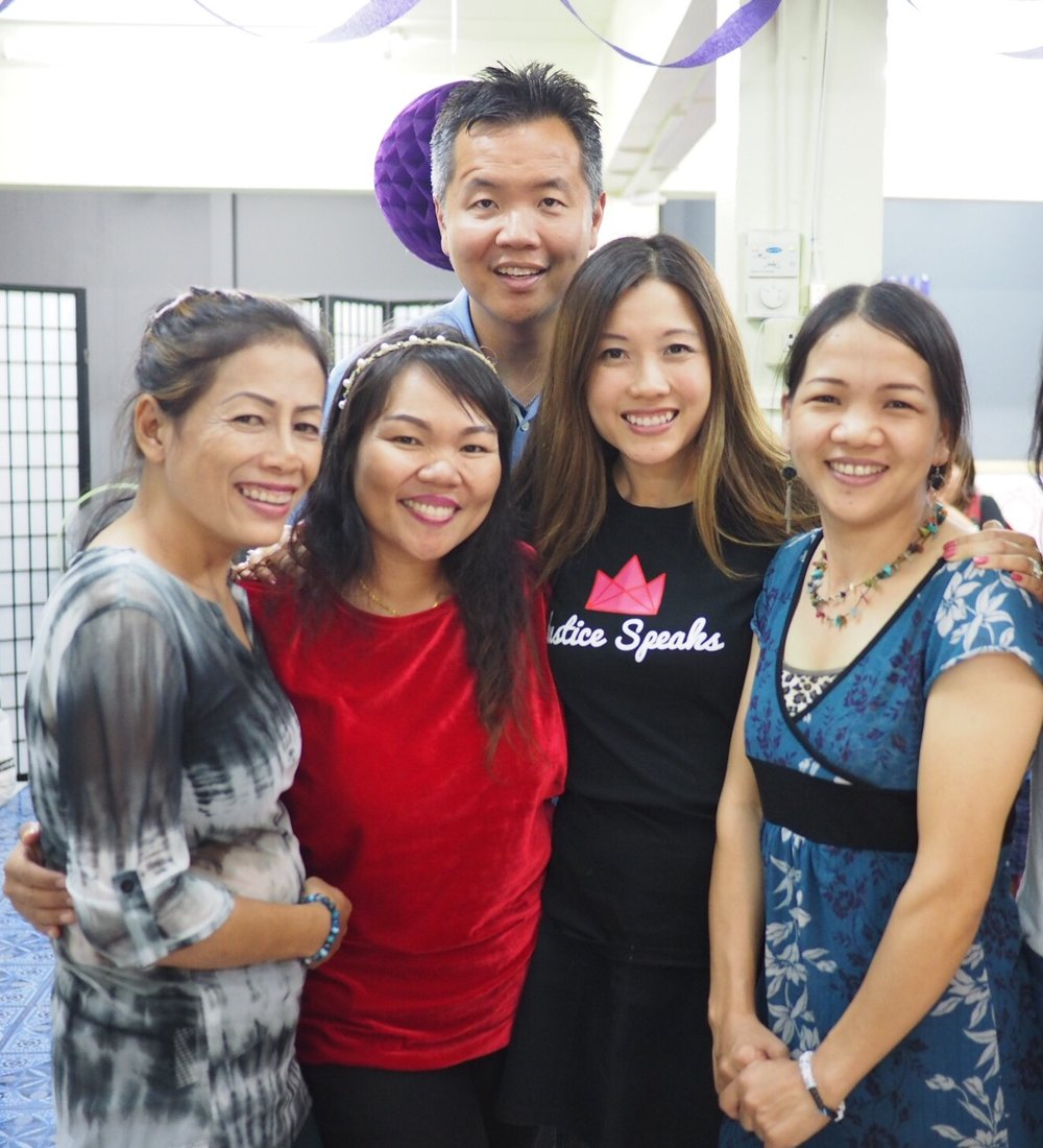 Founder, Sharon Ngai with Bridges Team, Thailand