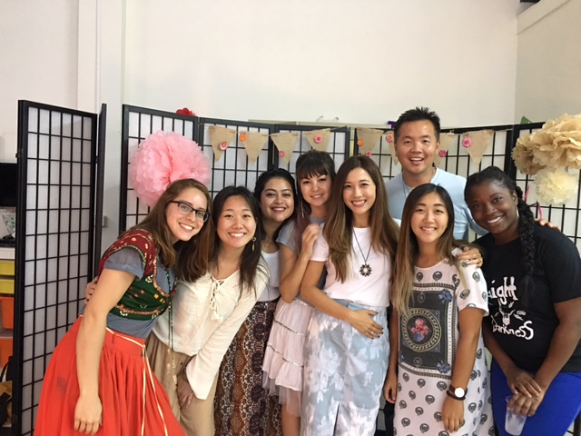 Sharon Ngai with JS Team, Thailand 2017