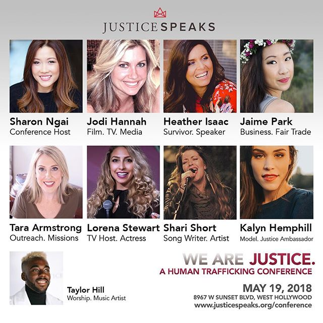 Make plans to join us in the heart of Hollywood on May 19th, a one-day event that will inspire & empower you to BE Justice. Early registration ends 5/11, Friday at midnight. Don't miss out! Info & tickets at www.justicespeaks.org/conference #WeAreJustice #WeAreJustice18 #ACTION #TakeAction #justice #justicespeaks #Endtrafficking #humantrafficking #creatives4justice #hollywood