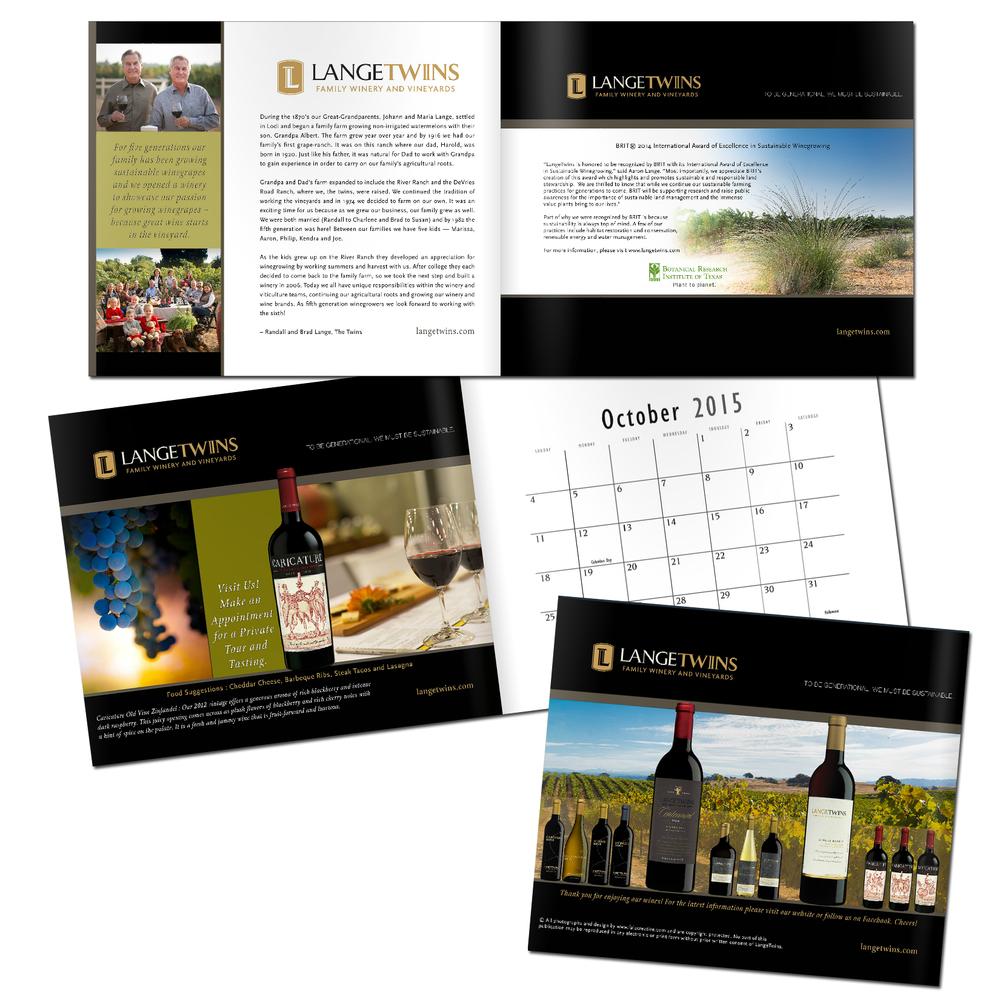 LangeTwins 2015 calendar