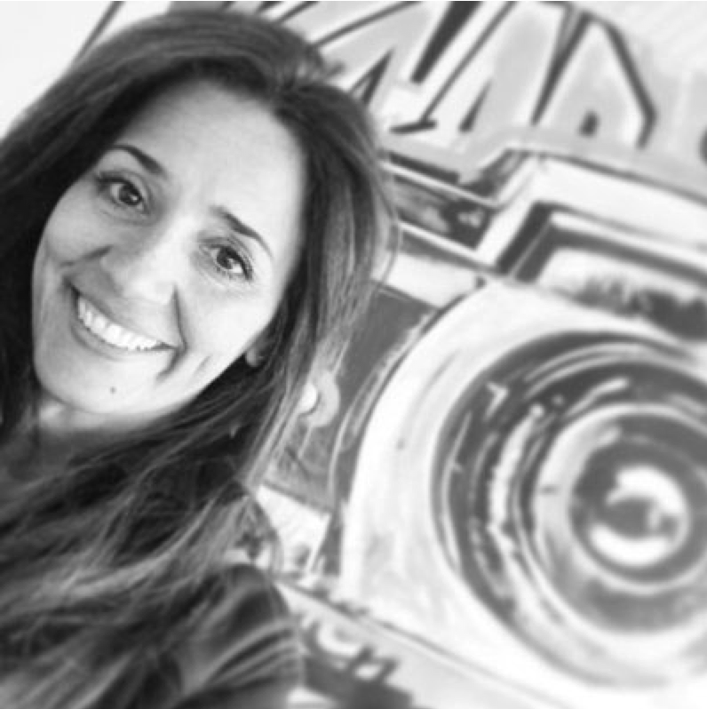 Fatima's selfie at the studio