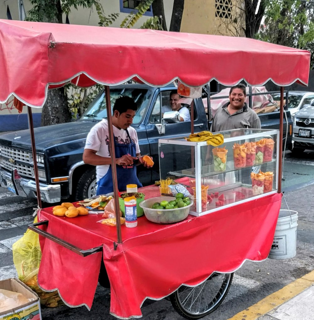 Street Fruit - Guadalajara, Mexico