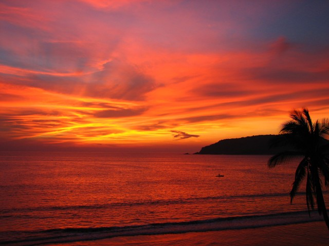 Mazatlán at Sunset
