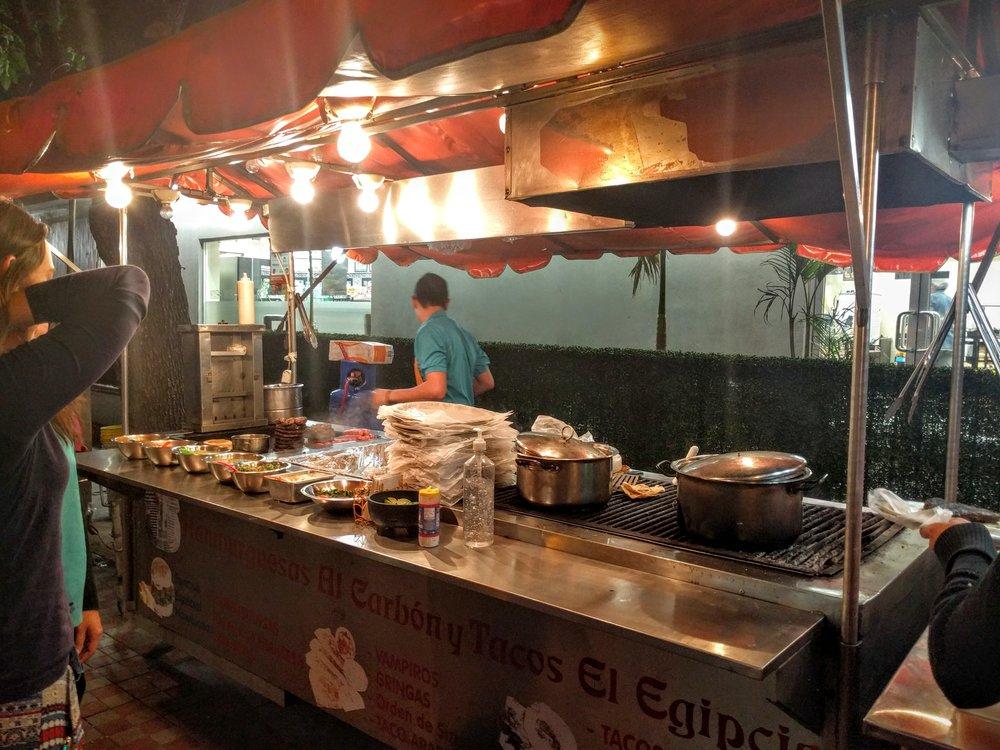 Chapultepec Tacos - Guadalajara, Mexico