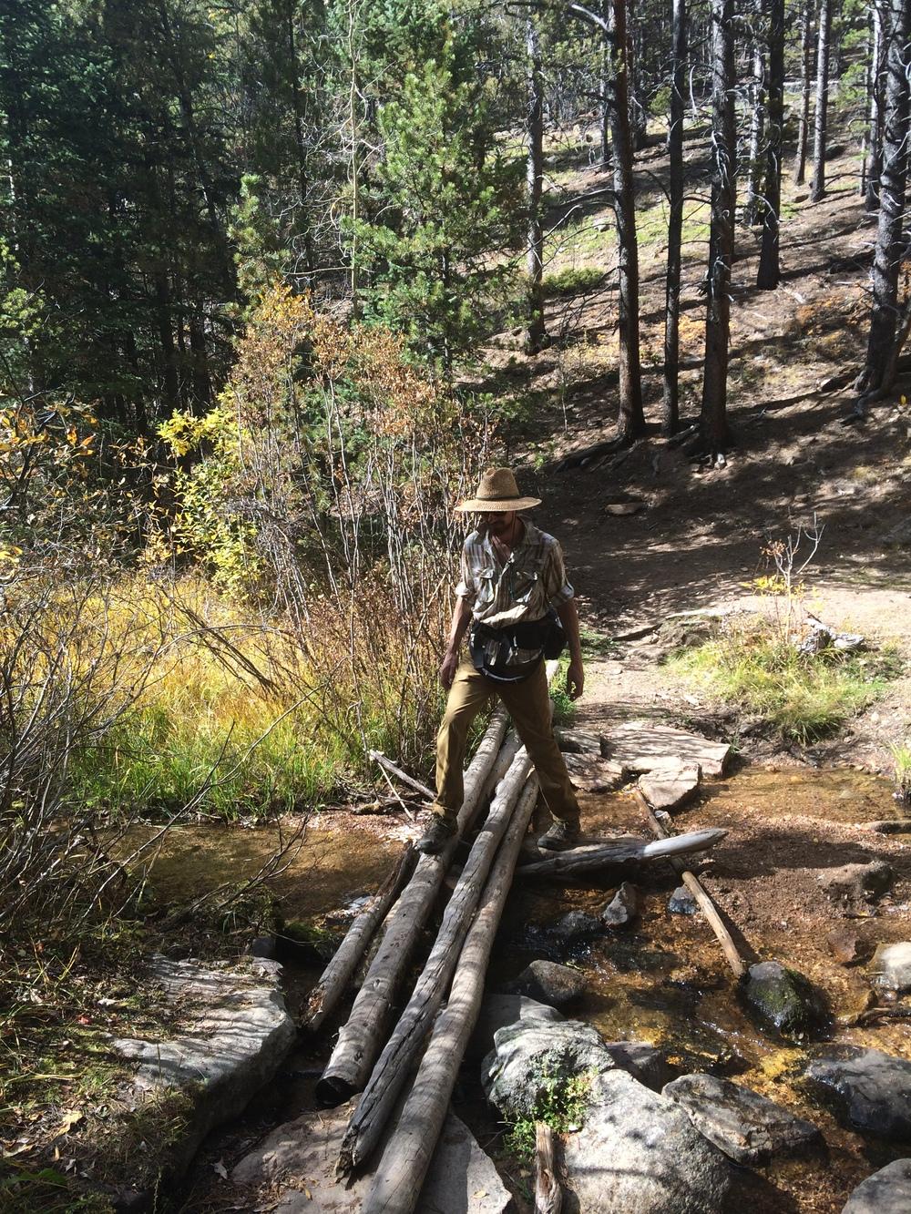Easy creek crossings