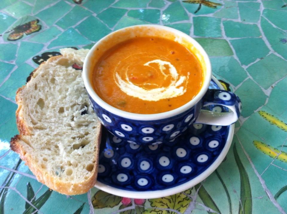 Tomato Harvest Soup