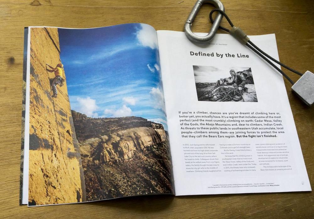 Patagonia Catalog Centerpiece