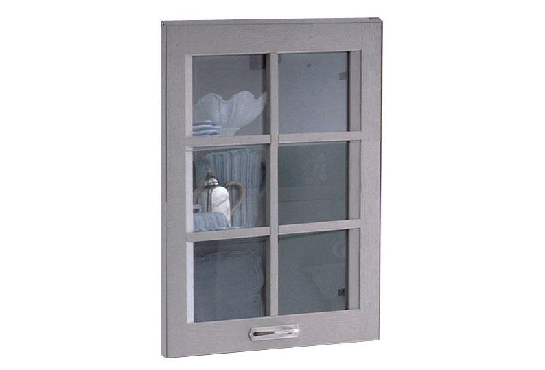 """""""Old America"""" glass door"""