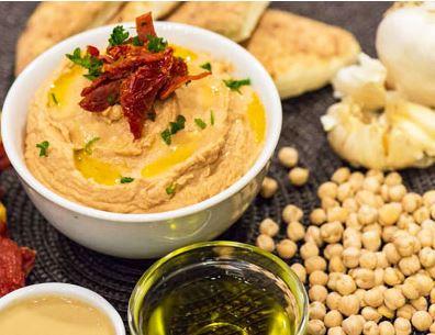 Hummus and Pita - Hummus.JPG