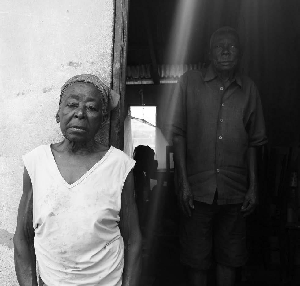 Grandma Hélène, Alain's aunt, and a matriarch of his tribe.