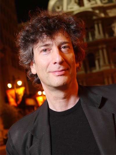 Author Neil Gaiman (Source:Wikipedia)