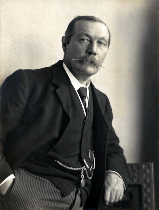 Arthur Conan Doyle (Source: Wikipedia)