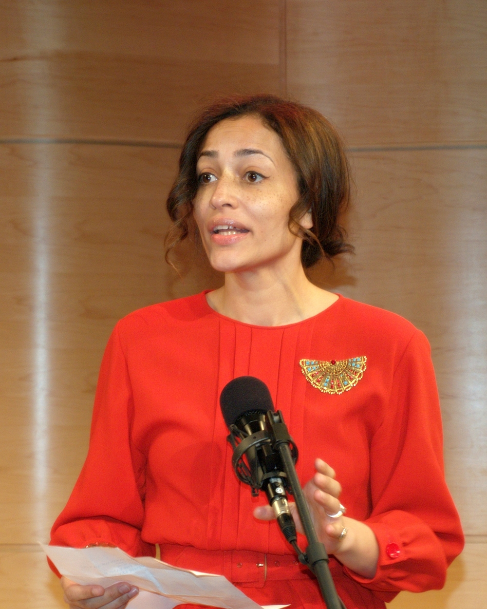 Zadie Smith (Source: Wikipedia)