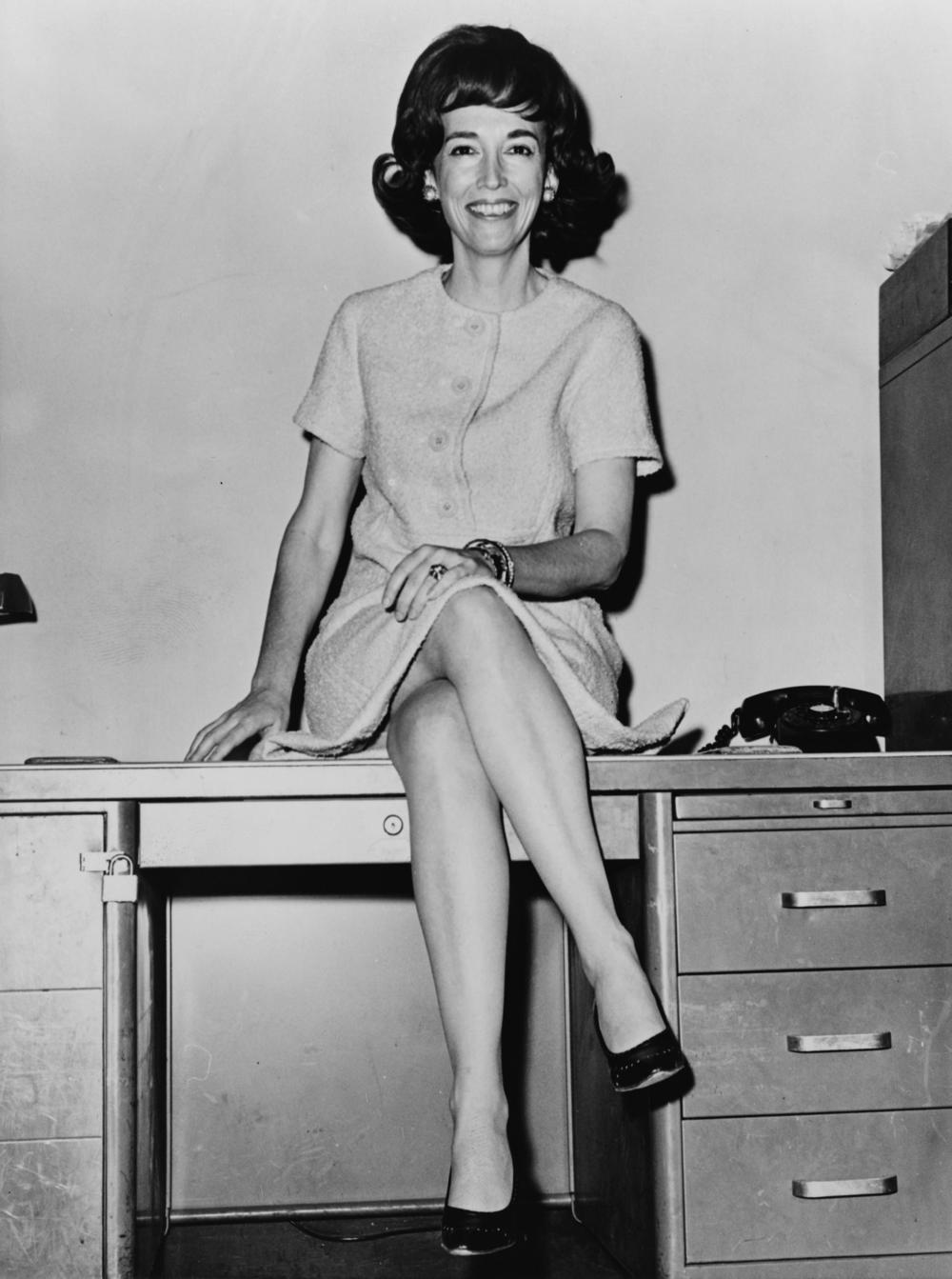 Helen Gurley Brown (Source: Wikipedia)