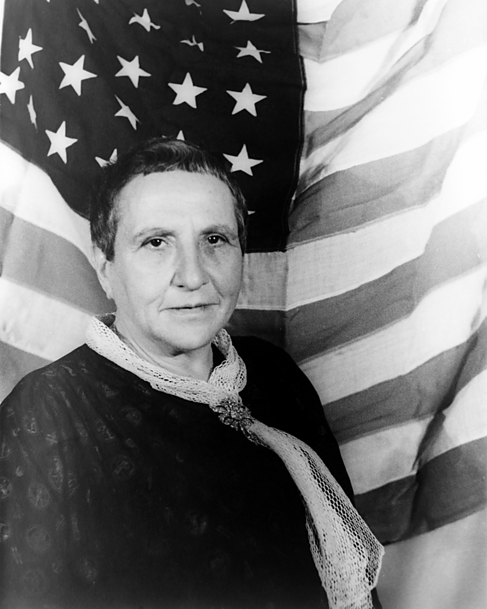 Gertrude Stein (Source: Wikipedia)