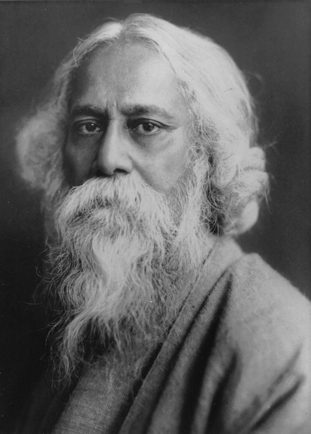 Rabindranath Tagore (Source: Wikimedia Commons)