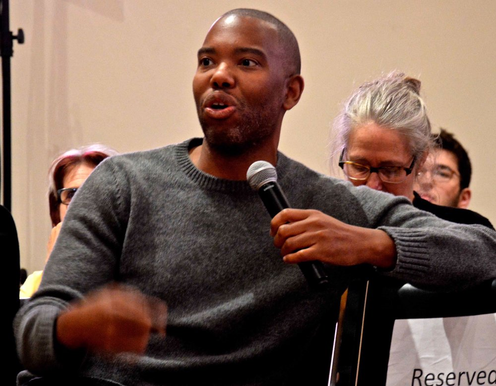 Author and Essayist Ta-Nehisi Coates at the Albertine Festival in New York this week