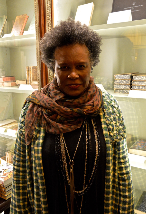 CLAUDIA RANKINE (Photo: Cerise Marechaud)