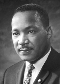 Martin Luther King, Jr. Source: Nobel Foundation