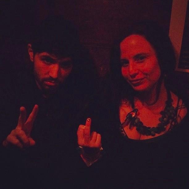 astro poets Alex dimitrov and dorothea lasky via twitter