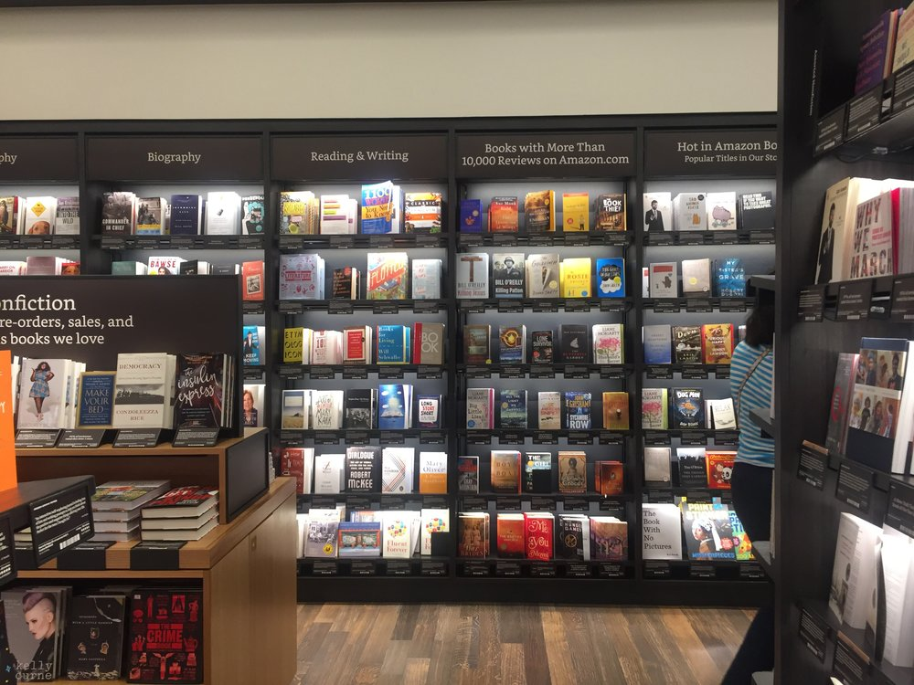 The new Amazon Store in New York (Photo: Aurélie Boris)