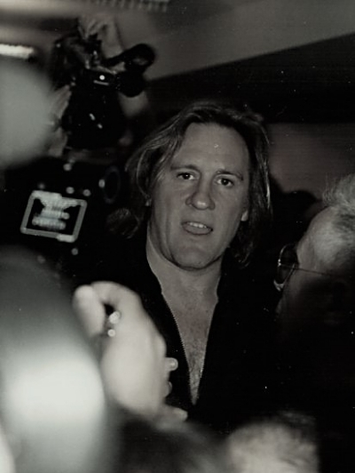 Gérard Depardieu in 1994 at Cannes Film Festival. Credits Wikimedia Commons