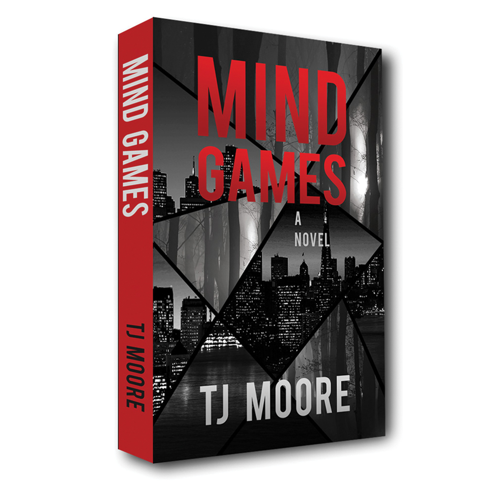 Mind Games - A Novel - Paperback and eBookIn San Francisco, CSI Photographer Cameron Frost spends his nights capturing evidence from the latest crime scene. And he's good at it. So when San Francisco citizens start to disappear, Cameron and his team jump on the case. But the trail of missing people leads him straight into the den of a self-proclaimed mastermind bent on one terrifying goal. Cameron and his team must outwit the evil at the center of this crime web before time runs out. TJ Moore tells a gripping and thought-provoking story of manipulation and twisted motives in this beat-the-clock thriller.