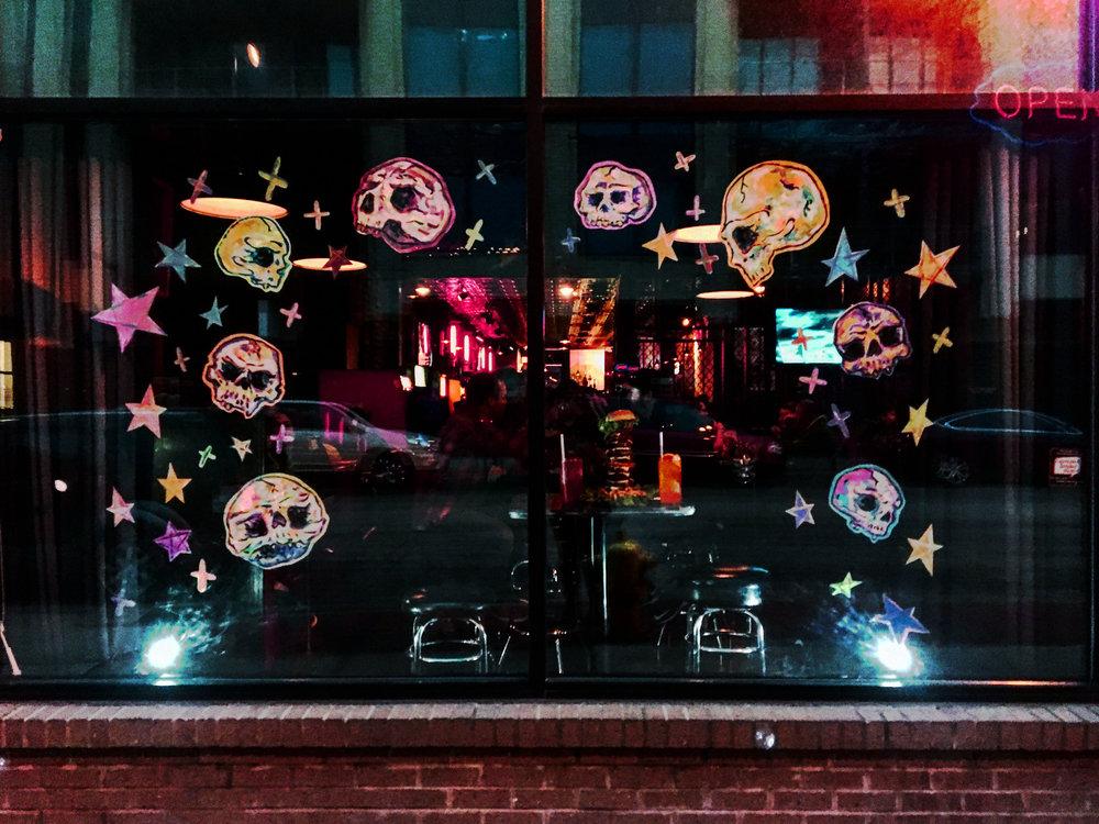 Stella's Lounge Best Window Display Contest Entry