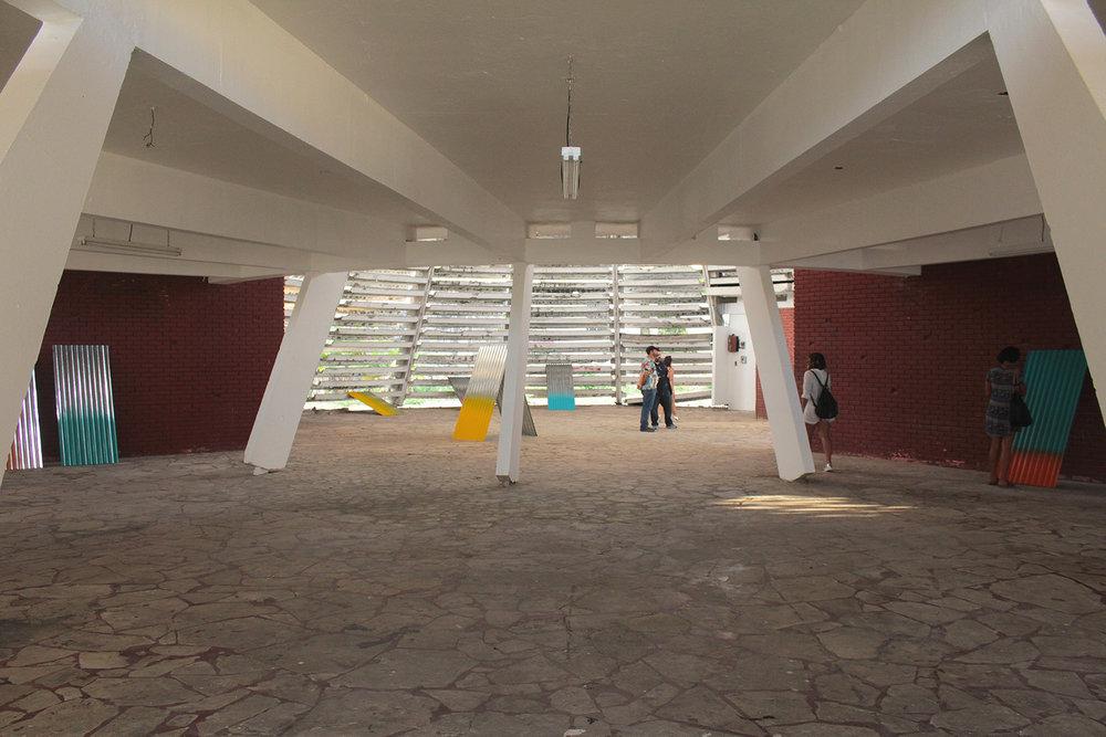 Ranchos, Planchas y Gallinas, 2016  Solo show. Venezuelan Pavillion, Santo Domingo.