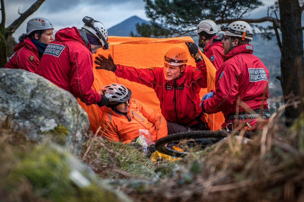 Dublin Wiclow MRT - Having been around SAR volunteers my whole adult life has done nothing to dampen my respect and admiration for the professionalism and dedication of SAR volunteers. DWMRT proved to be no exception.