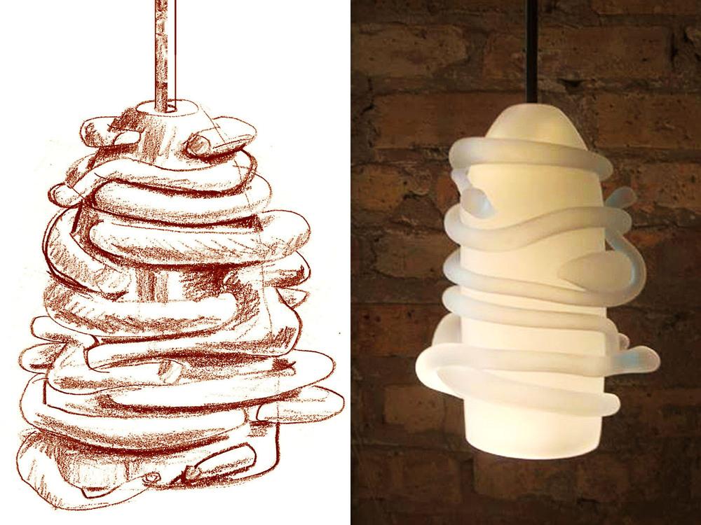 Rasta Lamp