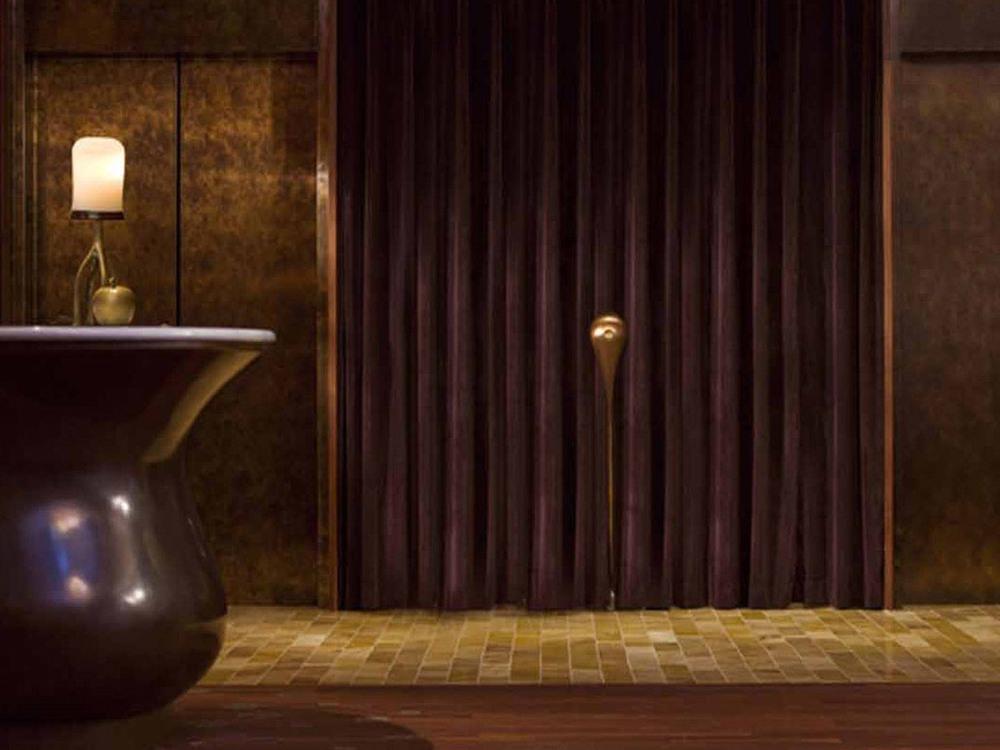 Host Podium and Elevator Lobby