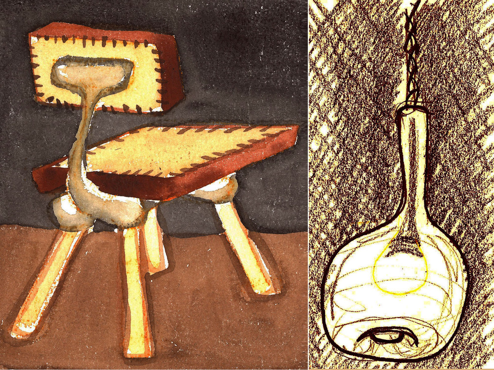 Chair and Pendant Studies