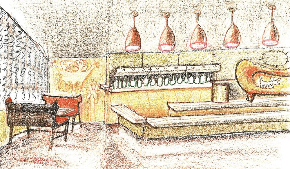 Bar Lounge Study