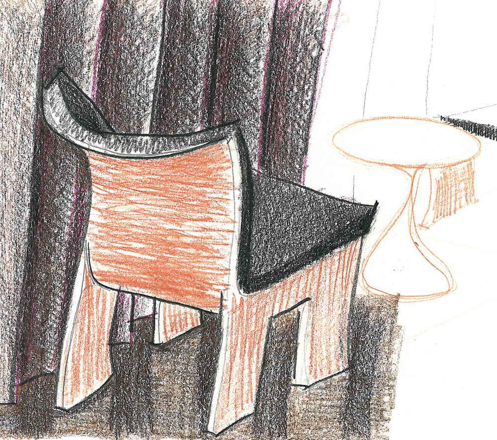 Furniture Pencil Study